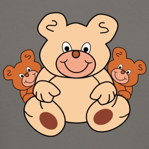 three teddy bears - Crewneck Sweatshirt