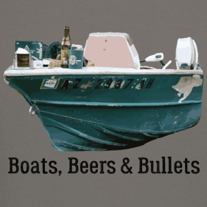 Boat and Bullets - Crewneck Sweatshirt
