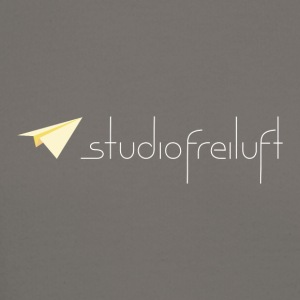 studiofreiluft logo eco shirt design - Crewneck Sweatshirt