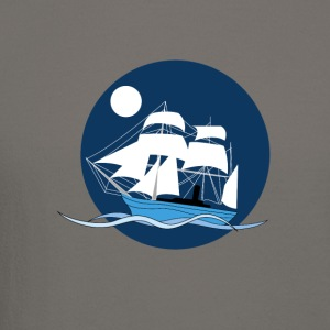 Night sailboat - Crewneck Sweatshirt
