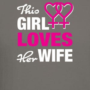 This girl loves her wife! - Crewneck Sweatshirt