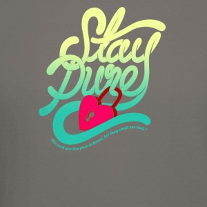 Stay pure blased are the pure - Crewneck Sweatshirt