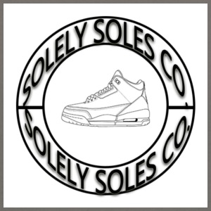 Solely Soles Circle Logo - Crewneck Sweatshirt