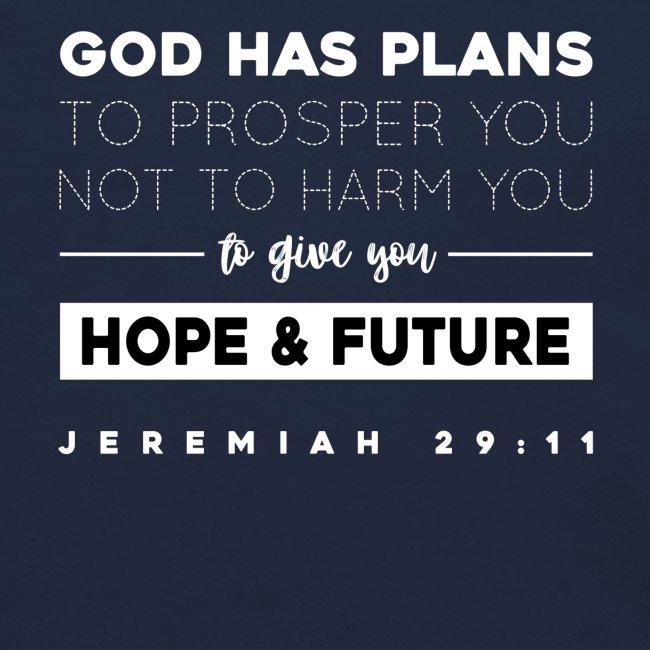 Jeremiah 29:11 shirt: Hope and future