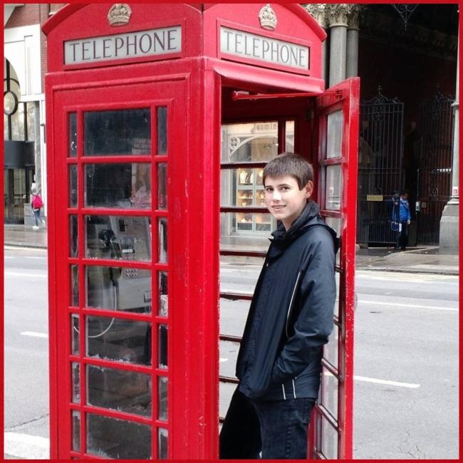 Sean in England