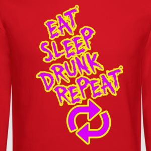 Eat Sleep Drunk Repeat - Crewneck Sweatshirt