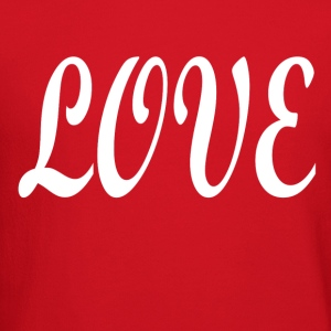 Love white font - Crewneck Sweatshirt