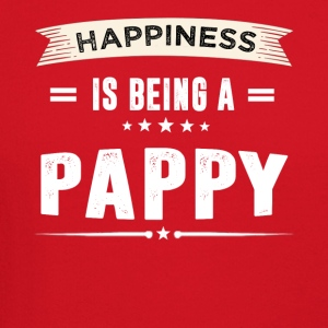 Happiness Is Being a PAPPY - Crewneck Sweatshirt