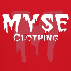 MYSE clothing logo - red & white - Crewneck Sweatshirt