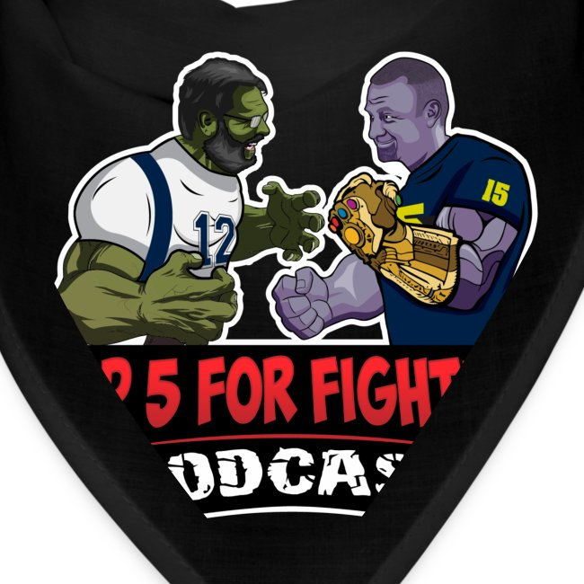 Top 5 for Fighting Logo