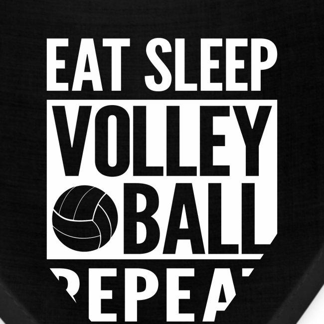 Eat Sleep Volleyball Repeat