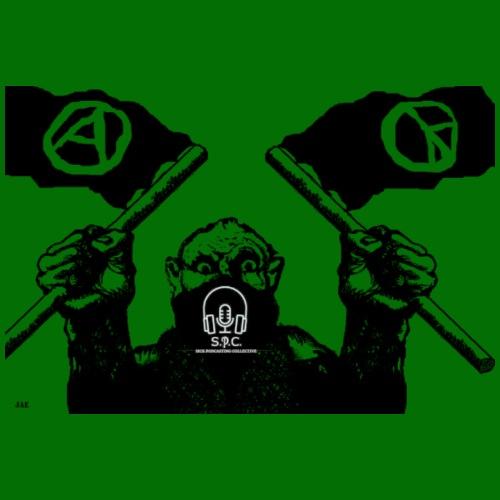 anarchy and peace - Dog Bandana
