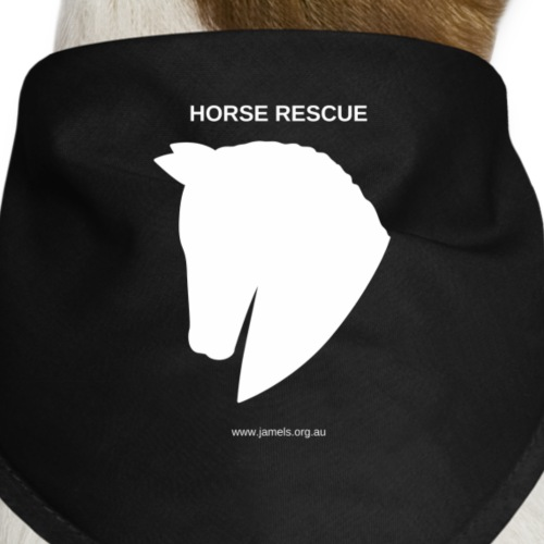 HORSE RESCUE - Dog Bandana