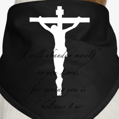 crucifix - Dog Bandana