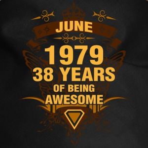 June 1979 38 Years of Being Awesome - Dog Bandana