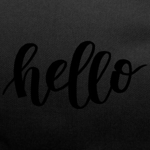 Hello - Duffel Bag