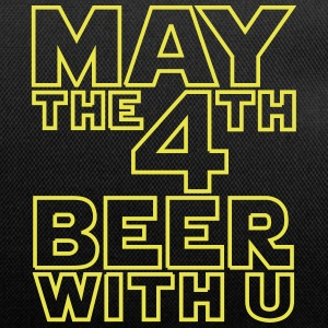 May the 4th beer with u Funny T-Shirt - Duffel Bag
