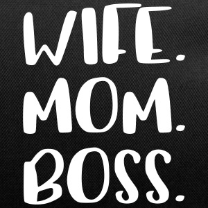 Wife Mom Boss Design - Duffel Bag