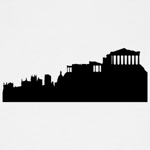 Athens silhouette - Men's Tall T-Shirt