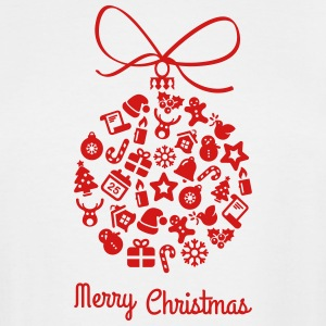 Christmas_ball-_merry_christmas - Men's Tall T-Shirt