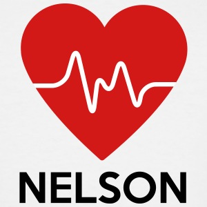 Heart Nelson - Men's Tall T-Shirt
