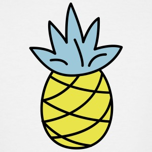 retro pineapple - Men's Tall T-Shirt