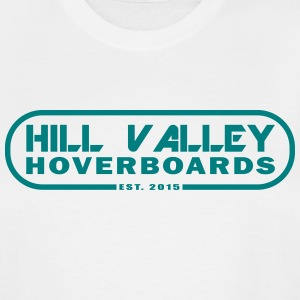 Hill Valley Hoverboards - Men's Tall T-Shirt