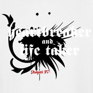 Heartbreaker and life taker - Men's Tall T-Shirt