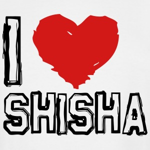 I LOVE SHISHA! - Men's Tall T-Shirt