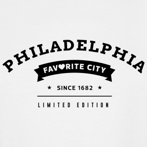 Favorite City Philadelphia - Men's Tall T-Shirt