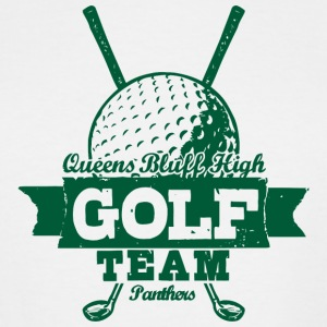 Queens Bluff High Golf Team Panthers - Men's Tall T-Shirt