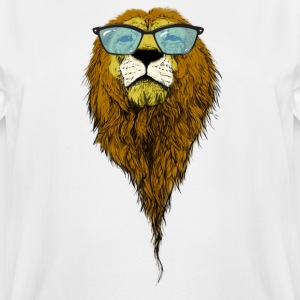 Geek lion - Men's Tall T-Shirt