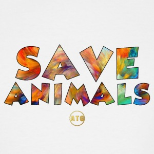Save Animals by ATG - Men's Tall T-Shirt
