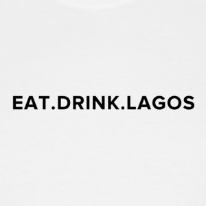 Eat.Drink.Lagos Logo Shirt - Men's Tall T-Shirt