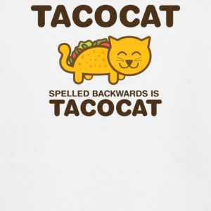 Tacocat spelled backwards is Tacocat - Men's Tall T-Shirt