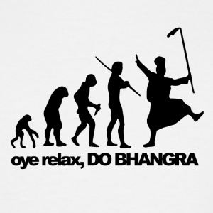Bhangra Evolution - Men's Tall T-Shirt