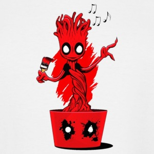 groot custom to deadpool - Men's Tall T-Shirt