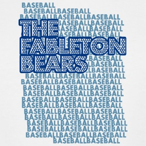 THE FABLETON BEARS BASEBALL - Men's Tall T-Shirt