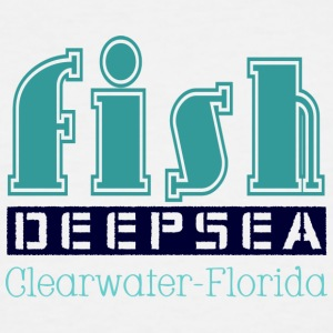 Deepsea fishing Clearwater Florida - Men's Tall T-Shirt