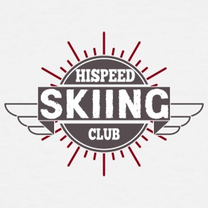 SKIING Hispeed Club - Men's Tall T-Shirt