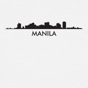 Manila Philippines Skyline - Men's Tall T-Shirt