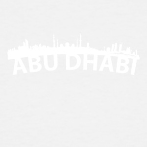 Arc Skyline Of Abu Dhabi United Arab Emirates - Men's Tall T-Shirt