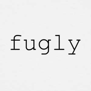 fugly (black) - Men's Tall T-Shirt