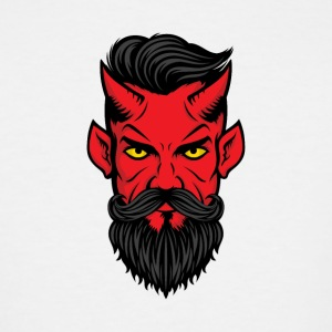 devil demon fiend deuce bogy - Men's Tall T-Shirt