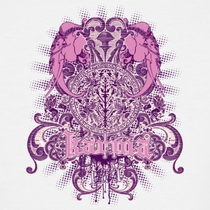 pink_elephants - Men's Tall T-Shirt