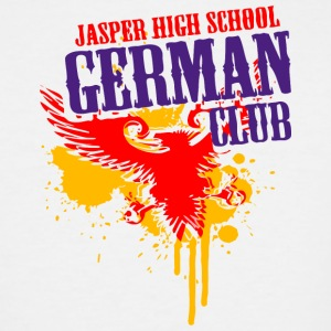 Jasper High School German Club - Men's Tall T-Shirt