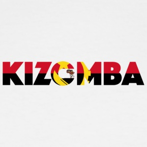 Kizomba_angola_flag - Men's Tall T-Shirt