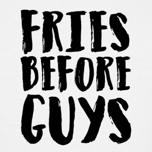 Fries before guys Artboard 1 - Men's Tall T-Shirt