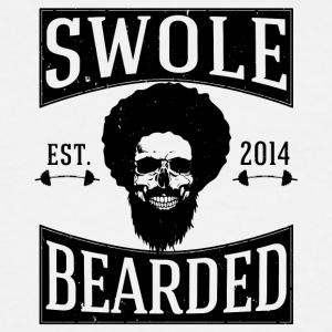 Swole And Bearded Classic Tee - Men's Tall T-Shirt