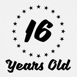 16 Years Old - Men's Tall T-Shirt
